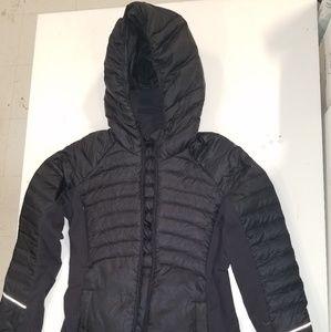 LuLu lemon Black Down for it all Jacket